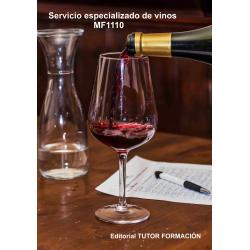 Servicio especializado de vinos. MF1110
