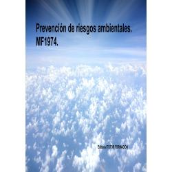 Comprar Manual Prevención de riesgos ambientales. MF1974.