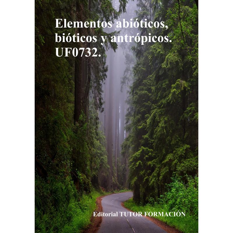 Elementos abióticos, bióticos y antrópicos. UF0732.